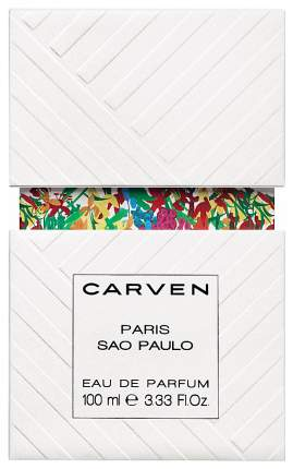 Парфюмерная вода Carven Paris-Sao Paulo 100 мл