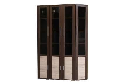 Шкаф книжный Hoff Валери 80272341 35х37х199,2, венге цаво/дуб бонифацио