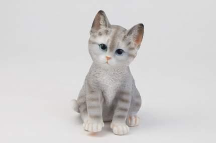 Фигура садовая Полосатый Котёнок L14W12H20 см.