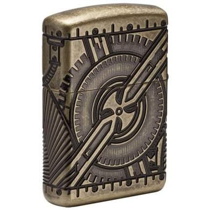 Зажигалка Zippo Armor 29268 Antique Brass