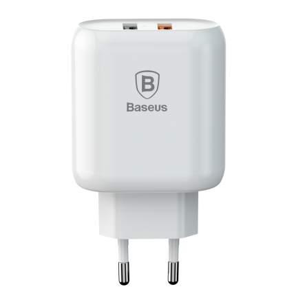 Сетевое зарядное устройство Baseus Bojure 2 USB 1,5A EU White