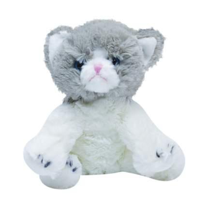 Мягкая игрушка Teddykompaniet котенок 20 см, бело-серый, 2716