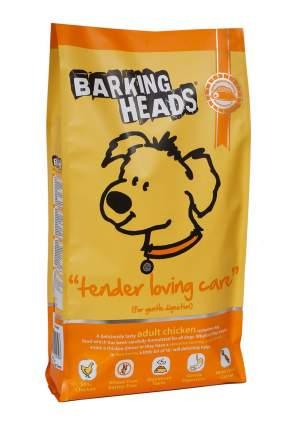 Сухой корм для собак Barking Heads Tender Loving Care, курица и рис, 12кг