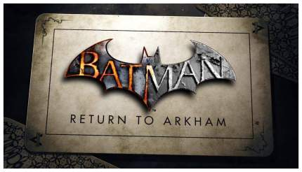 Игра Batman: Return To Arkham для PlayStation 4