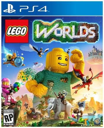 Игра для PlayStation 4 LEGO Worlds