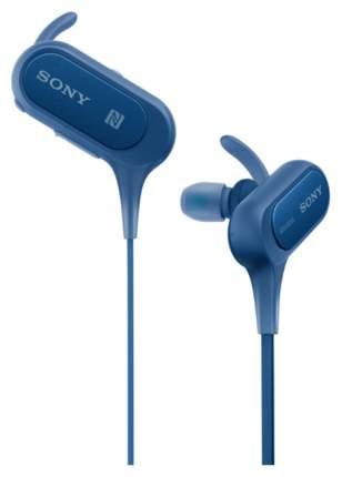 Беспроводные наушники Sony MDR-XB50 Blue