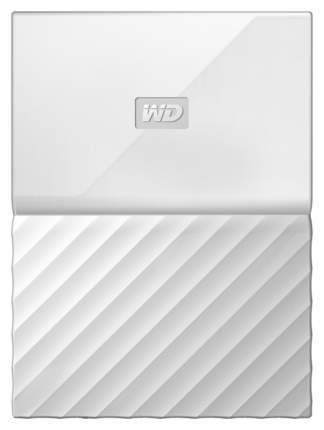 Внешний диск HDD WD My Passport 2TB White (WDBUAX0020BWT-EEUE)