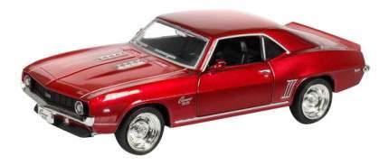 Машина Uni-Fortune 1:32 Chevrolet Camaro SS (1969) инерционная красный металлик
