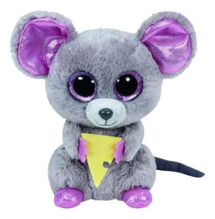 Мягкая игрушка TY Beanie Boos Мышонок Squeaker с кусочком сыра 15 см