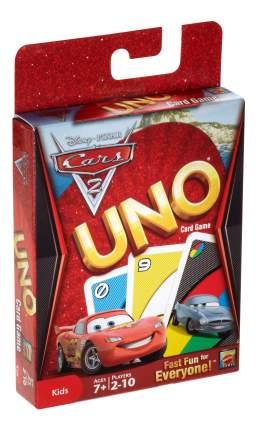 Семейная настольная игра Uno® Тачки 2 T8230