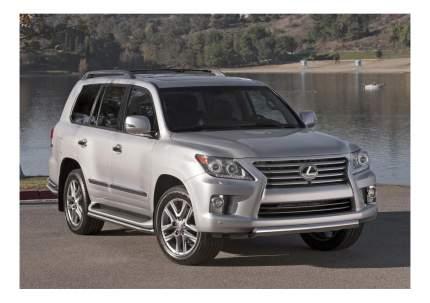 Защита порогов RIVAL для Toyota (R.5713.014)