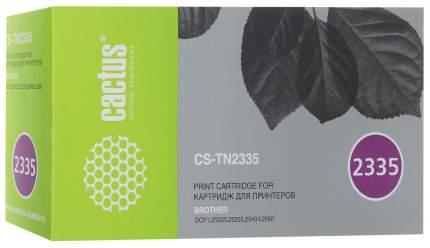 Картридж для лазерного принтера Cactus CS-TN2335 черный