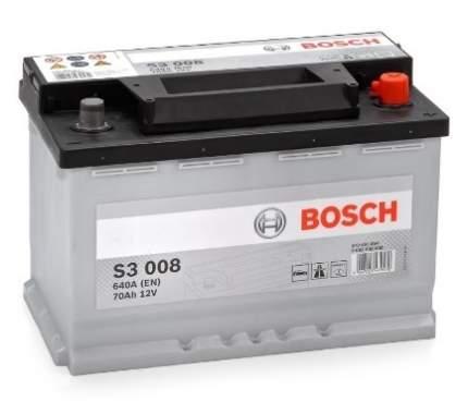 Аккумулятор автомобильный автомобильный Bosch S3 0 092 S30 080 70 Ач