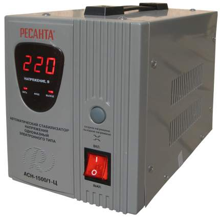 Однофазный стабилизатор Ресанта АСН-1500/1-Ц