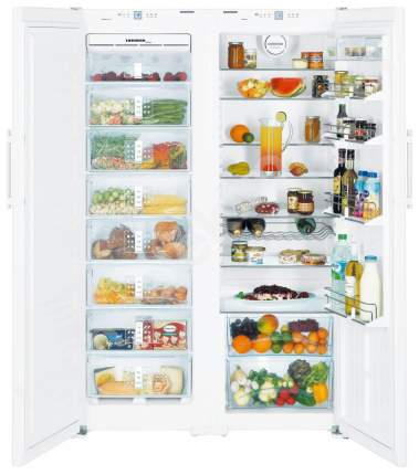 Холодильник LIEBHERR SBS 7252-24 001 White