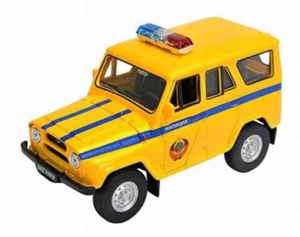 Машинка инерционная Welly 42380RT Модель машины Welly 1:34-39 УАЗ 31514 Милиция