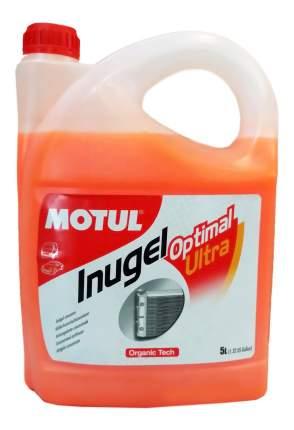 Антифриз MOTUL INUGEL OPTIMAL ULTRA оранжевый концентрат 5л