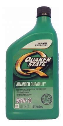 Моторное масло Quaker state Advanced Durability SAE 5W-20 0,946л