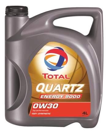 Моторное масло TOTAL Quartz 9000 Energy SAE 0W-30 (4л)