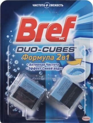 Кубики для сливного бачка Bref duo-cubes 2в1 2*50 г
