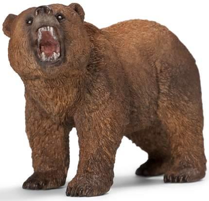 Фигурка Schleich Медведь Гризли. самец коричневый (14685)