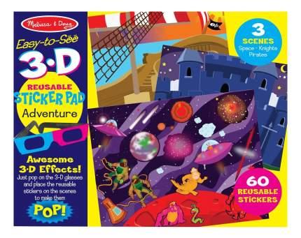 Набор для творчества Melissa&Doug творчество приключения С 3D Очками (9375)