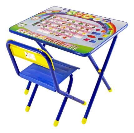Комплект детской мебели Дэми Алфавит синий