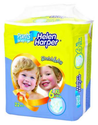 Подгузники Helen Harper Stretch&Dry 6 (16+ кг), 22 шт.