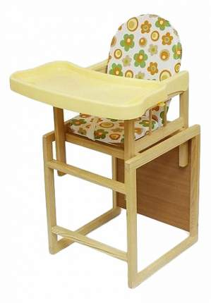 Стул-стол для кормления Globex Мишутка