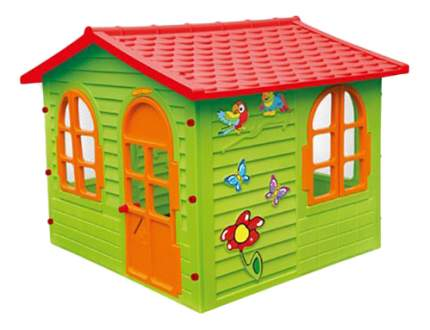 Домик Mochtoys с красной крышей