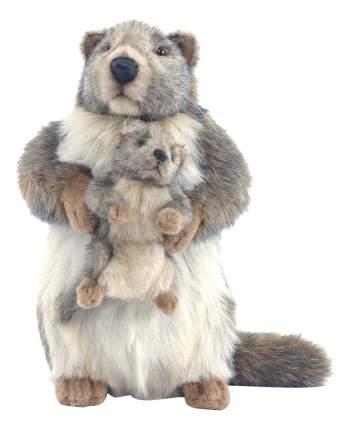 Мягкая игрушка Hansa Сурок с Детенышем 35 см