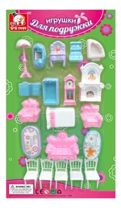 Игрушки для подружки с 5 стульями для кукольного дома S+S Toys
