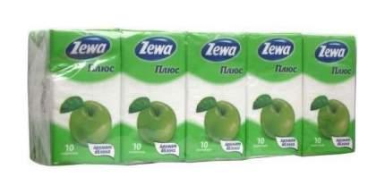 Бумажные платки Zewa Плюс 2-слойные Микс 100 шт