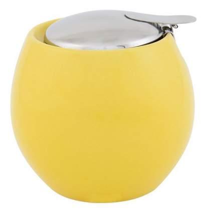 Сахарница Elan Gallery Желтая мет/кр 500 мл, 10,5*10,5*9,5 см