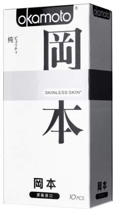 Презервативы Okamoto Skinless Skin Purity 10 шт.