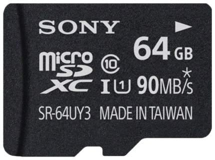 Карта памяти Sony Micro SDHC SR64UX2AT 64GB