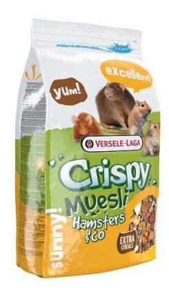 Корм для хомяков Versele-Laga Crispy Muesli Hamsters & Co 0.4 кг 1 шт