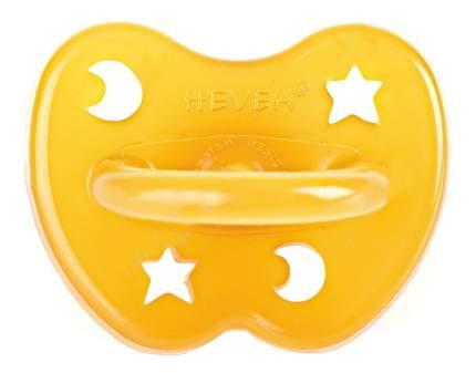 Латексная пустышка анатомическая HEVEA Star and Moon