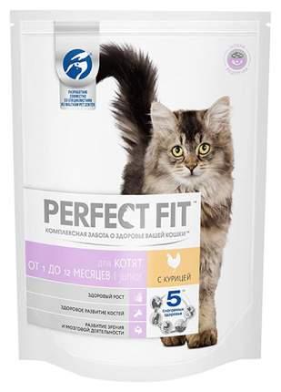 Сухой корм для котят Perfect Fit Junior, курица, 10шт по 650г