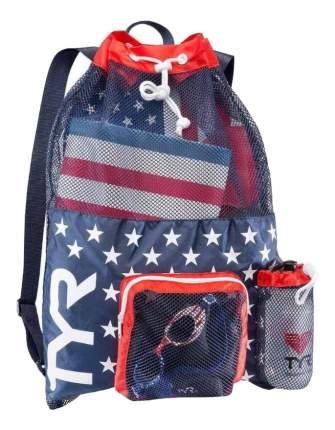 Рюкзак-сетка TYR Big Mesh Mummy LBMMB3 синий/белый/красный (USA)