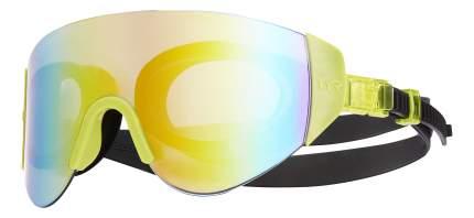 Очки-полумаска для плавания TYR Renegade Swimshades Mirrored LGRNGD черные/желтые (968)