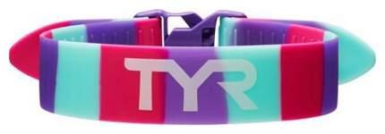 Ремень-фиксатор ног для плавания TYR Rally Training Strap розовый/фиолетовый (678)