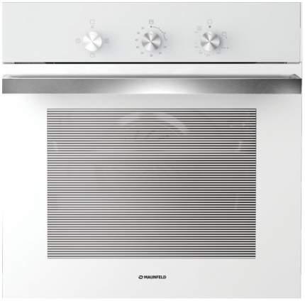 Встраиваемый газовый духовой шкаф MAUNFELD MGOG 673W White