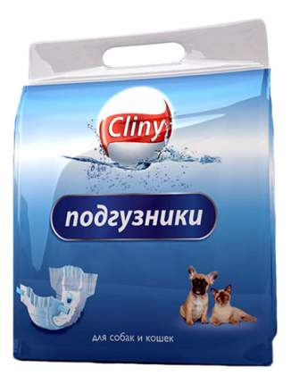 Подгузники для кошек и собак Cliny, L
