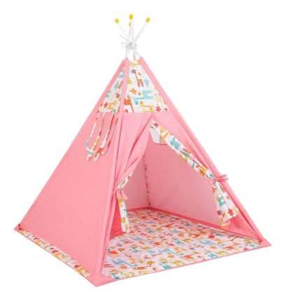Игровая палатка Polini Жираф, розовый
