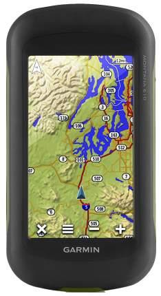 Туристический навигатор Garmin Montana 610T черный