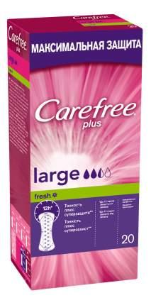 Прокладки гигиенические CAREFREE Large Fresh 20 шт.