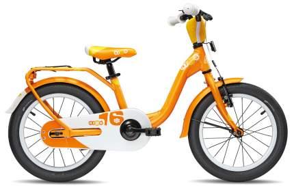 Велосипед Scool niXe 16 alloy 2017 One size белый девочка
