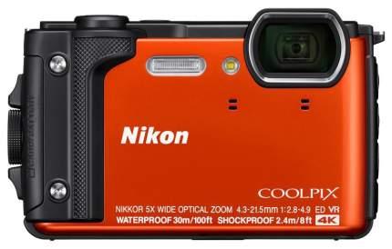 Фотоаппарат цифровой компактный Nikon W300 Orange