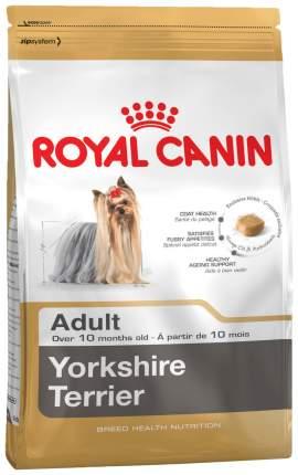 Сухой корм для собак ROYAL CANIN Yorkshire Terrier Adult, птица, 1.5кг